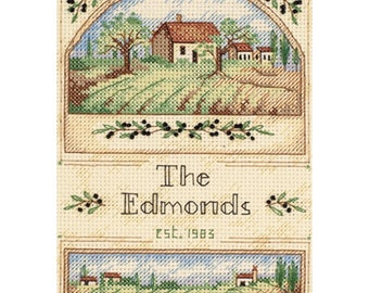 Dimensions Tuscan Greeting Counted Cross Stitch Kit