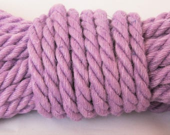 Wisteria Purple Hemp Bondage Rope Shibari Rope
