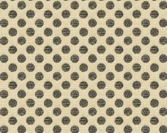 KRAVET LEE JOFA Kate Spade Dots Fabric 10 Yards Beige Charcoal