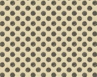 KRAVET LEE JOFA Kate Spade Dots Fabric 10 Yards Beige Charcoal