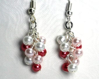Valentine Earrings, Gifts for Her