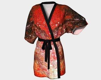 Trial by Fire Kimono Robe