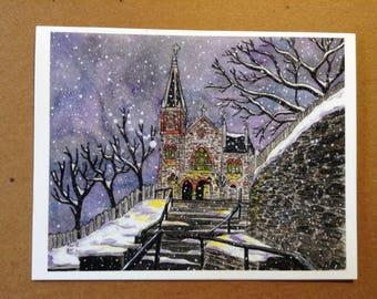 Appalachian Trail Greeting Card - Harper's Ferry - Blank Fine Art Note Card