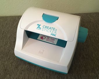 Xyron Create a Sticker MAX machine and used cartridge
