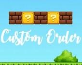 Custom Order for Kitsnkaboodle