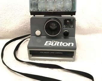 Vintage Polaroid Land Camera The Button