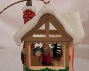 "1982 Hallmark ""Santa's Workshop"" - QX4503"
