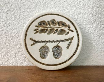 Pigeon Forge Pottery tile trivet or coaster
