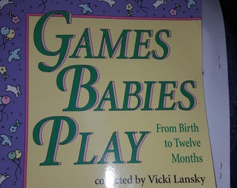 Games Babies Play book