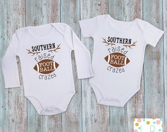 Football Crazed - Football Onesie - Football Baby - NFL Shirt - Football Outfit - Baby Bodysuit - Baby Onesie - Baby Shower Gift