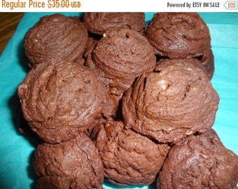 ON SALE: Thick, Soft & Chewy Homemade Reese's Hot Fudge Cookies (2 Dozen)