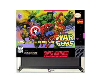 Marvel Super Heroes SNES Magnet