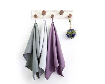 Organic dish towels set of 3 - Massage towels for SPA