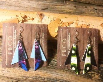 dangling earrings / GEO FLIRT
