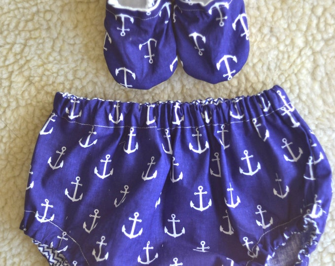 anchor baby bloomers nautical baby bloomers anchor diaper cover baby coming home outfit navy blue bloomers nautical birthday outfit anchor
