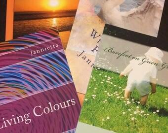 Poetry books by Jannietta