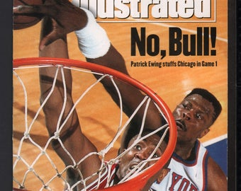 Vintage Magazine - Sports Illustrated : May 31 1993 - Patrick Ewing