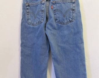 Vintage 90's,Faded Blue Reg RELAXED FIT R0CKSTAR Type Jeans By LEVI'S 526.3T