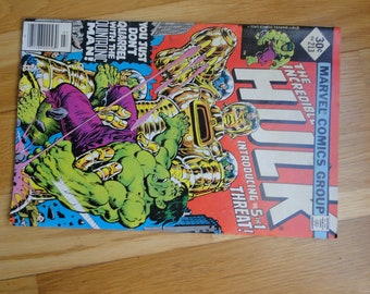 Great old Marvel comic The Incredible Hulk no. 213  Quintronic Man