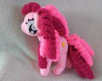 Pink My Little Pony inspired by My Little Ponies