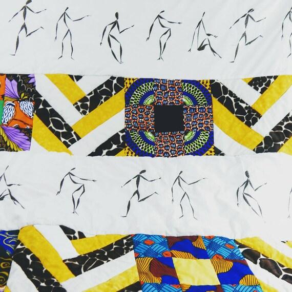 Dancing African Quilt
