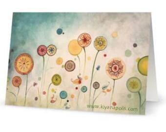 Norooz Greeting Card,  Persian new year, Persian card, norooz card, Nowruz cards, Norooz, Persian Art, made in canada