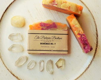 Bohemia No. 7 -  Handmade - Shea Butter Hot Process Soap