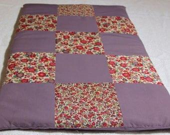 handmade Plaid baby blanket