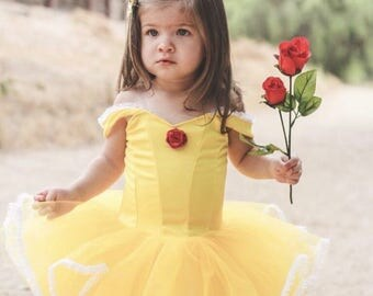 Red rose- princess-tutu dress-styled shoot-birthday party-inspired -yellow-tutu -playsuit- themed shoot