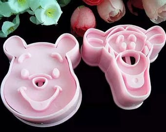 Winnie the Pooh and Tigger  Cookie Cutter Set