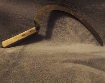 Antique Rustic Sickle