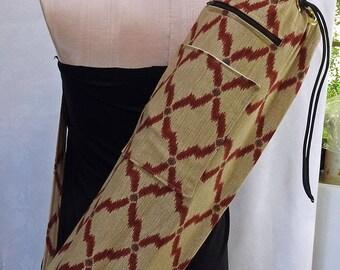 Abstract Diamonds  - Yoga Mat Bag - Pilates Mat Bag - READY TO SHIP!