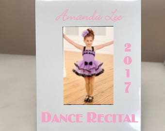 PERSONALIZED! Dance Recital Picture Frame