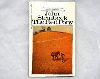 John Steinbeck The Red Pony Vintage 1988 Paperback Edition