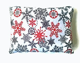 Minky pillow cover,winter pillow cover,Christmas Pillow cover