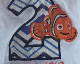 Nemo Birthday Shirt