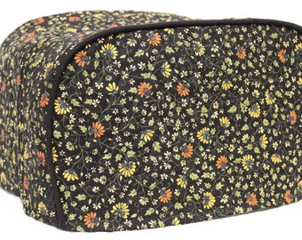 Midnight Floral 4 Slice Toaster Cover
