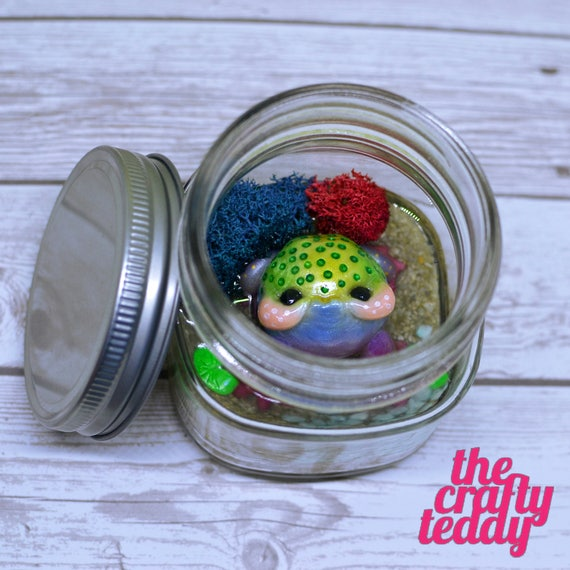Pouty Toad in a Jar