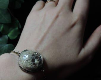 """Sands of Time - multiple edition"" steampunk bracelet"