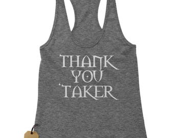 Thank You Undertaker Racerback Tank Top for Women