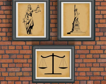 Charming Law Office Artwork Law Office Wall Art Law Office Decor Gift For Political  Activist Poster Gift