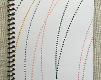 Blank Journal/planner - 100 dot-style pages
