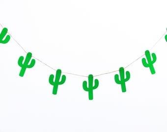Cactus Banner | Cactus Garland | Cactus Decor | Desert Banner | Desert Garland | Desert Decor | Southwest Banner | Southwest Decor | Prop