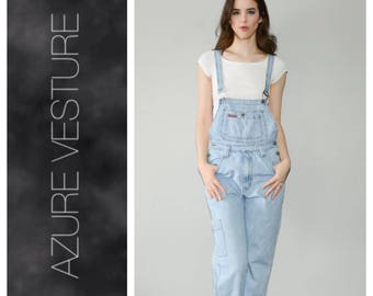 90s Denim Overalls. Small.    1990s  1980s Jean Overalls, Jeans Pants Jumpsuit. Retro.