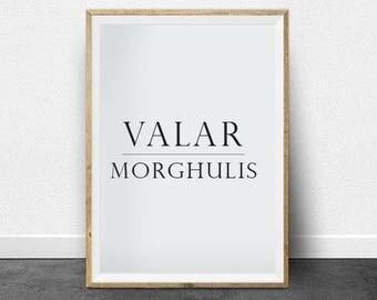 Valar Morghulis - game of thrones