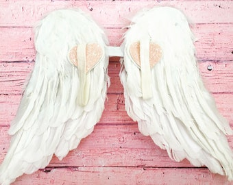 White Feather Wings for Toddlers