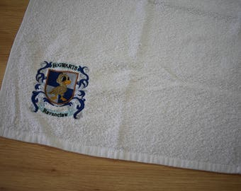 embroibered hand towel