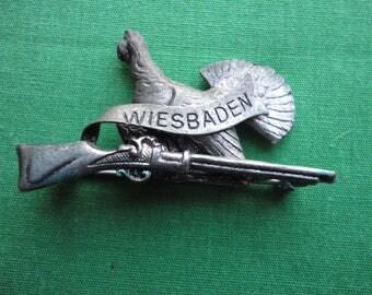 Souvenir of Wiesbaden Hat Pin