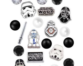 Star Wars Floating Charms