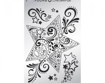 Stamping plaque Holidays - Dieuwertje Timmer